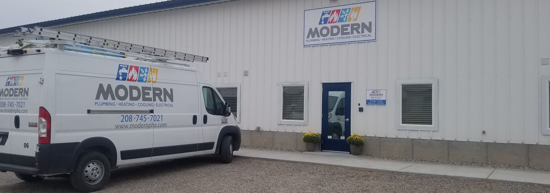 Welcome to Modern Plumbing, Heating and Electrical!